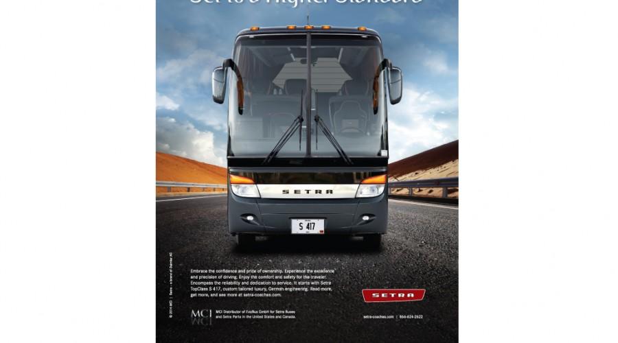Setra TopClass S 417 Graphis Award Winner